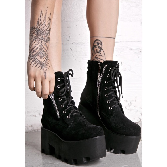 40ff3e9099a Current Mood Greenpoint Lace Up Platform Boots